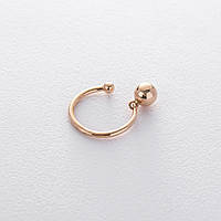 Золотое кольцо в стиле минимализм