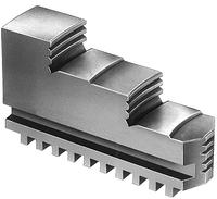 Кулачки прямые к патрону токарному ф160 3-х кул. шаг 8 мм,ширина 18 мм паз 8 мм, фото 1