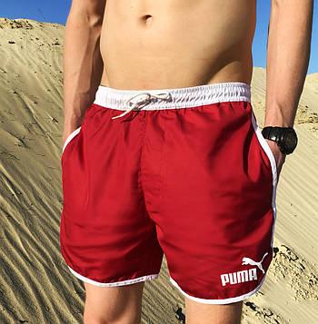 Мужские шорты Puma (Пума) красный