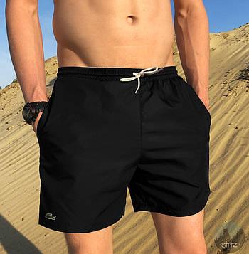 Мужские шорты Lacoste (Лакоста) черный