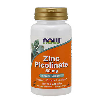 Zinc Picolinate 50 mg (120 caps) NOW