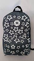 Рюкзак городской converse звезда размер 42х27х15