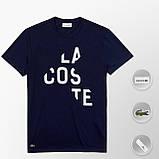 Мужская футболка Lacoste (ориг.бирка) красный, фото 5