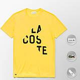 Мужская футболка Lacoste (ориг.бирка) красный, фото 9
