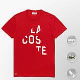 Мужская футболка Lacoste (ориг.бирка) темно-синий, фото 2