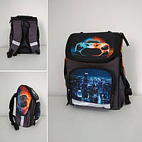 Рюкзак каркасный ортопедический для школы 1-3 класса размер 35х25х15