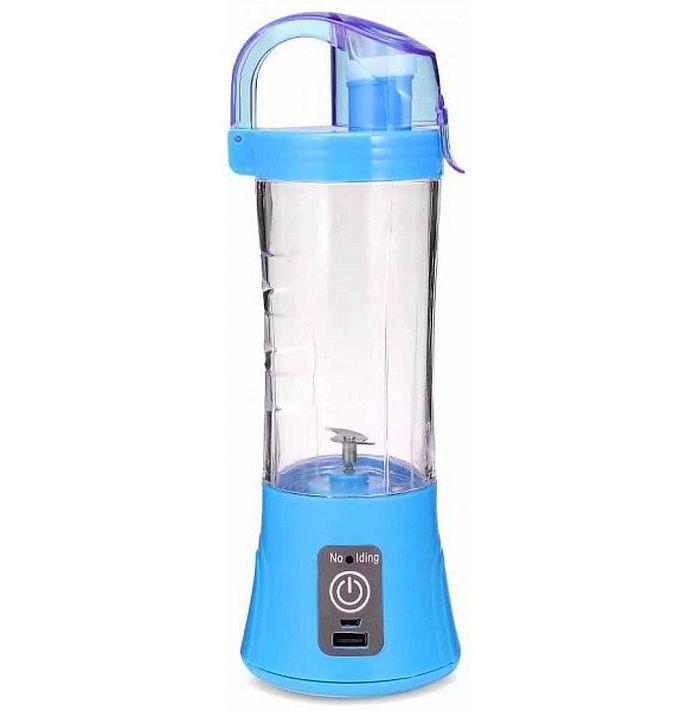 Портативний Usb блендер для смузі і коктейлів Juice Ql-602, blue