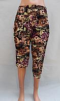 Капри, штаны (бриджи) женские бамбуковые Великан 54-60разм розн, опт