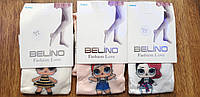 """Колготи дитячі капронові """"BELINO"""" Туреччина,куколки LOL, фото 1"""