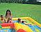 Детский игровой надувной центр.Водный детский надувной центр.Бассейн с горкой Intex., фото 4