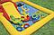 Детский игровой надувной центр.Водный детский надувной центр.Бассейн с горкой Intex., фото 6