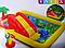 Детский игровой надувной центр.Водный детский надувной центр.Бассейн с горкой Intex., фото 9