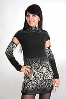 Платье шерстяное женское (Италия) р-ры: 34, 38