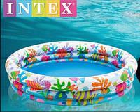 Бассейн надувной детский Аквариум Intex  (59431)