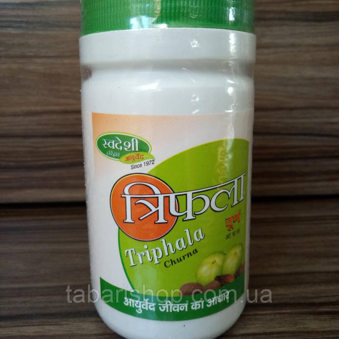Трифала чурна свадеш, трифала порошок,Triphala Churna Patanjali, 100 гр