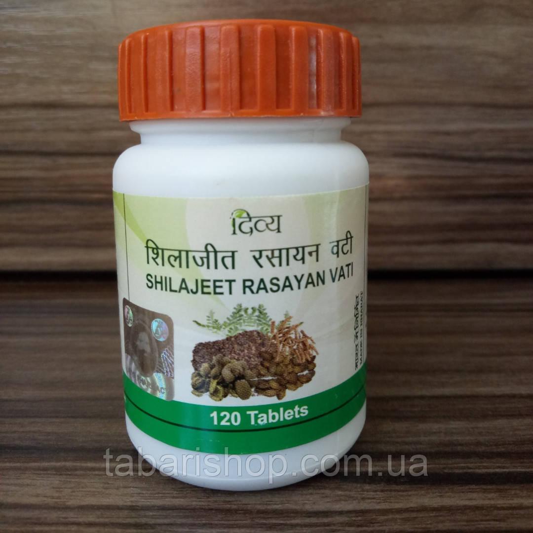 Шиладжит Расаян Дива Патанджали, Divya Patanjali Shilajeet Rasayan, 120таблеток