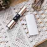 Беспроводные наушники блютуз гарнитура Wi-pods S2 Bluetooth 5.0 наушники водонепроницаемые GOLD, фото 8