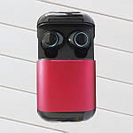 Беспроводные наушники блютуз наушники bluetooth гарнитура Wi-pods S7 кейс Power Bank 500mah RED Оригинал, фото 2