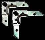 Уголок монтажный фланцевый 75×14×2,5мм