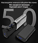 Беспроводные наушники блютуз наушники bluetooth гарнитура 5,0 Wi-pods G1 наушники с микрофоном Оригинал Черные, фото 3