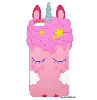 Чехол-накладка TPU 3D Little Unicorn для Xiaomi Redmi Go Pink