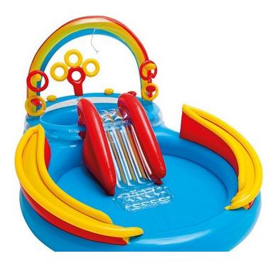 Водный надувной игровой центр.Детский игровой надувной бассейн.