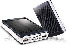 Портативное зарядное устройство Power Bank Solar UKC 100 000 mAh