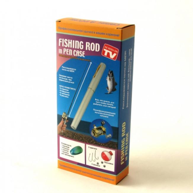 Удочка карманная Fishing Rod In Pen Case,в виде ручки