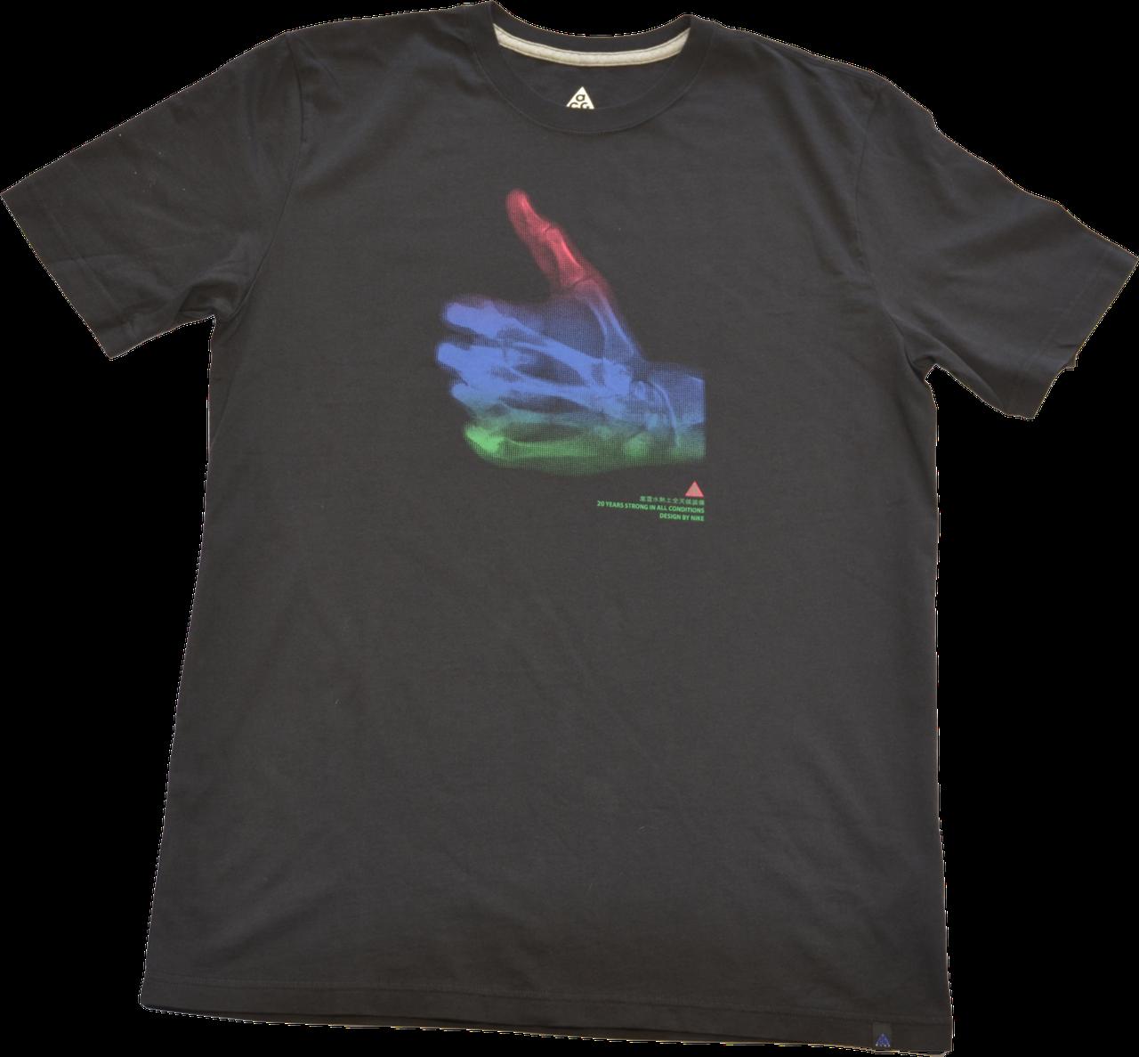 Мужская хлопковая футболка Nike SS THUMBS UP TEE.