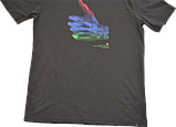 Мужская хлопковая футболка Nike SS THUMBS UP TEE., фото 3