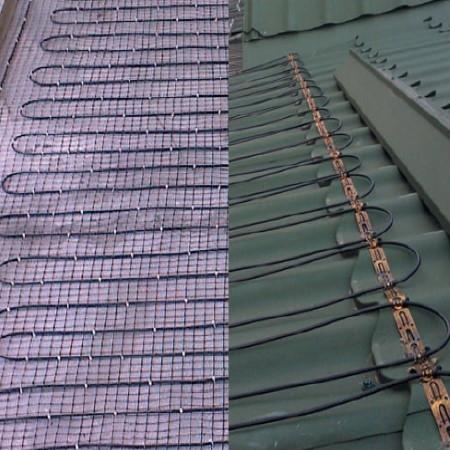 Нагревательный кабель Arnold Rak SiPC. Соотношение шага укладки и мощности обогрева.