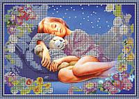 Схема для вышивки бисером Спят усталые игрушки КМР 4168