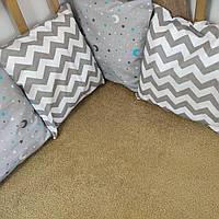 Бортики в детскую кровать на 3 стороны   Бортики в дитяче ліжко на 3 сторони