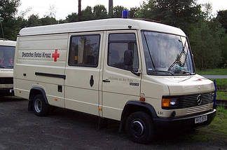 Mercedes 507-814/T2/L670 (REX) (високий) (86-96) (Минивен, Грузовик)