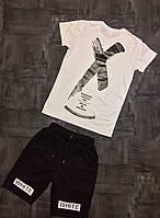 Молодёжная, мужская, летняя футболка с качественной накаткой (х/б Турция)