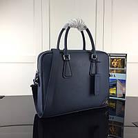 Брендовый мужской портфель Prada, фото 1