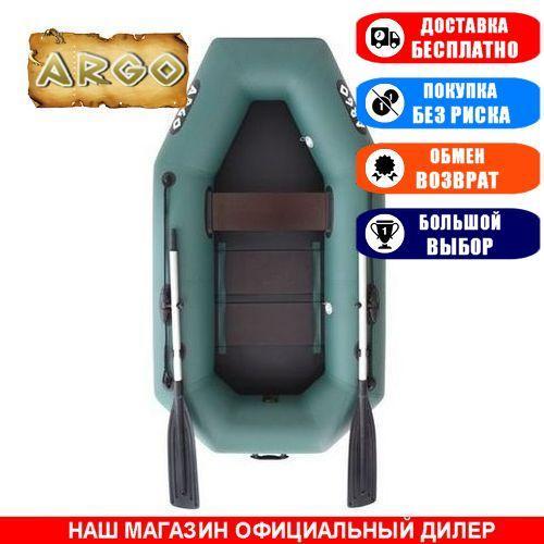Лодка Argo A-220C. Гребная, 2,20м, 1 место, 850/950ПВХ, стац. с-нья, реечное днище. Надувная лодка ПВХ Арго А-220С;