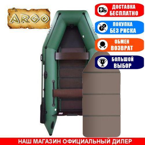 Лодка Argo AM-330KK. Моторная, 3,30м, 4 места, 1100/1100 ПВХ, сдвижные/стационарные сиденья, сплошное днище. Надувная лодка ПВХ Арго АМ-330КК;