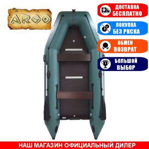 Лодка Argo AM-330K. Моторная, 3,30м, 4 места, 1100/1100ПВХ, стац/cдвиж. с-нья, жесткое днище, киль. Надувная лодка ПВХ Арго АМ-330К;