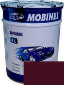 Краска Mobihel Алкид 180 Гранат 1л.