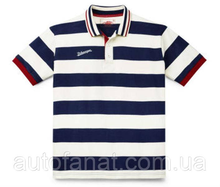 Оригинальная мужская рубашка-поло Volkswagen Classic Men's Polo Shirt, Beige/Blue (311084230A9HD)