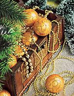 """Пакет ламинированый спетлевой ручкой .м """"Новогодняя композиция НГ""""  (23х29) 50мк  (50 шт)"""