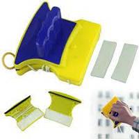 Магнитная щетка для мытья окон Double sided glass cleaner 6 мм., фото 1