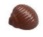 Форма для шоколада BARRY ракушка улитки ,Бельгия - 06773