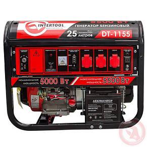 Генератор бензиновый INTERTOOL DT-1155, фото 2