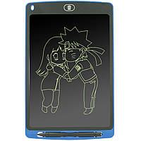 "☀Графический планшет Lesko LCD Writing Tablet 10"" Blue рисование заметки планшет для записей"