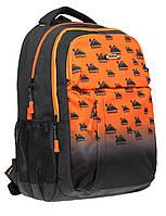 Рюкзак SAFARI 46 х 30 х 19 см 26,22 л Черный/Оранжевый (19-113L-1/8591662191134), фото 1