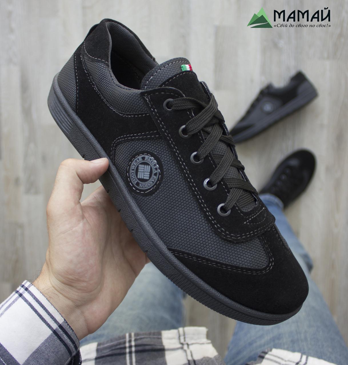 2c7139b5fbe1b1 Кросівки кеди чоловічі чорні - Інтернет-магазин дешевого взуття в Львове