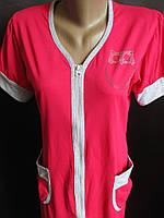 Качественные хлопковые халаты для женщин. , фото 1