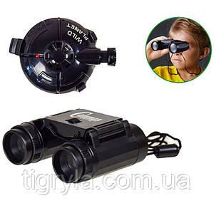 Набор шпиона - бинокль, датчик движения